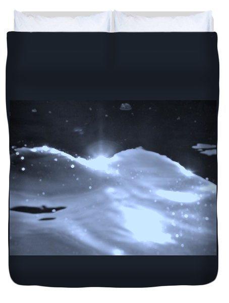 Moon Sunset Duvet Cover