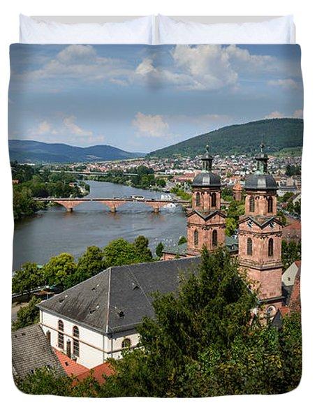 Rhine River Duvet Cover
