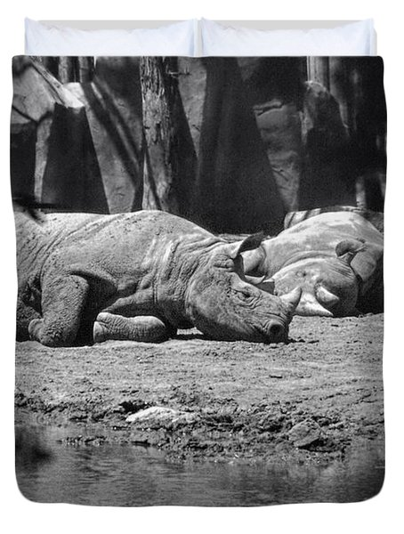 Rhino Nap Time Duvet Cover