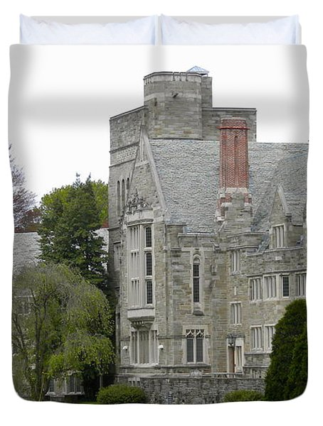 Rhoads Hall Bryn Mawr College Duvet Cover