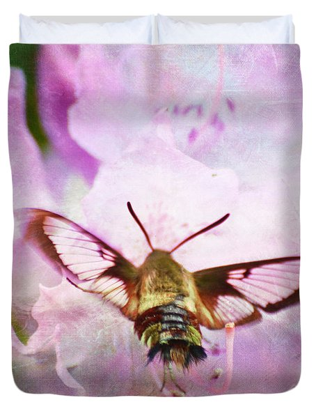 Rhododendron Dreams Duvet Cover
