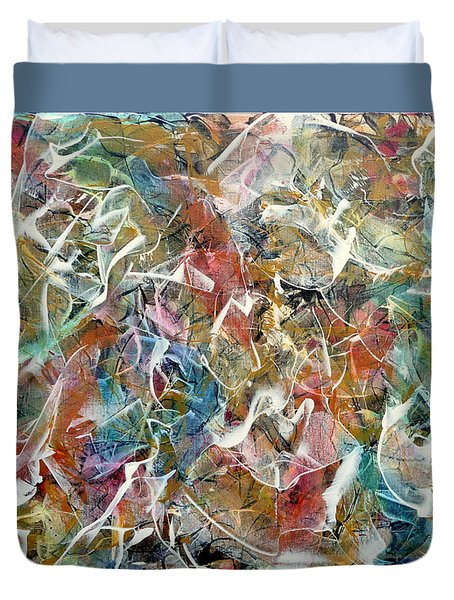Rhythm And Blues Duvet Cover by Jim Whalen