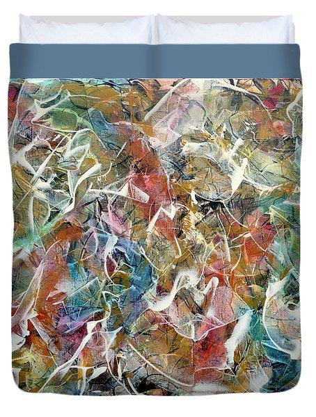Rhythm And Blues Duvet Cover by Jim Whalen