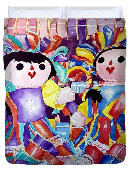 Ribbon Shoppin Duvet Cover