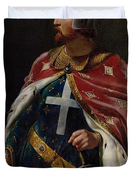 Richard I The Lionheart Duvet Cover