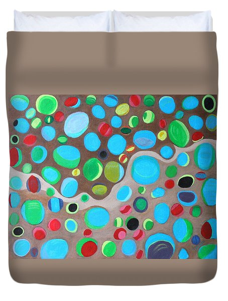 Riches Of People On Earth  Duvet Cover