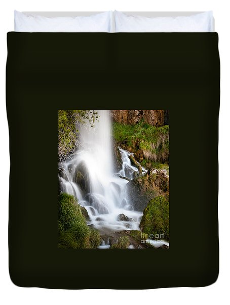 Rifle Falls Duvet Cover
