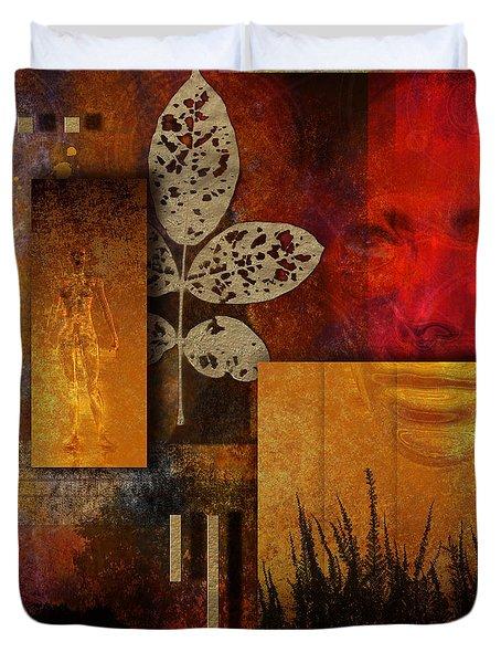Rift Duvet Cover by Nola Lee Kelsey