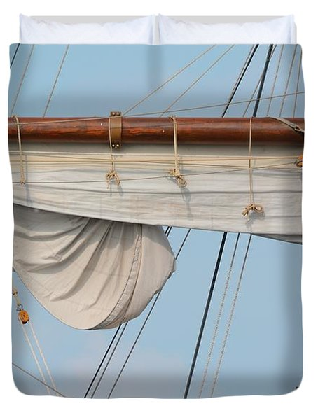 Rigging Duvet Cover