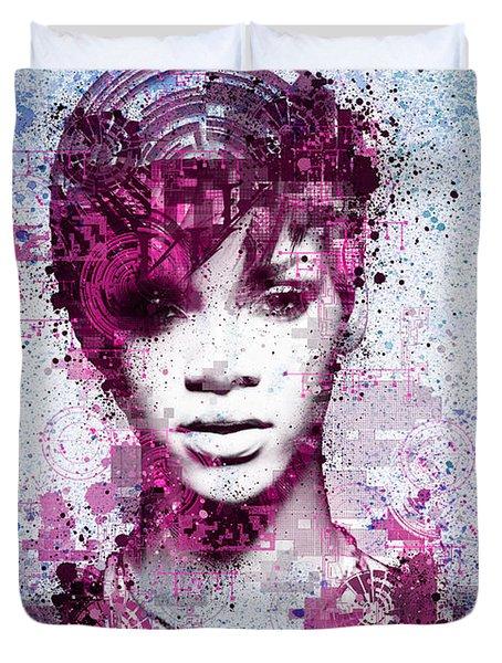 Rihanna 8 Duvet Cover