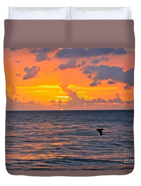 Rincon Sunset Duvet Cover