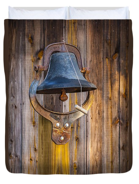 Duvet Cover featuring the photograph Ring My Tennessee Bell by Carolyn Marshall