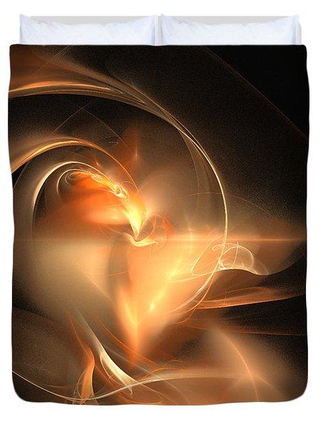 Ring Of Fire Duvet Cover