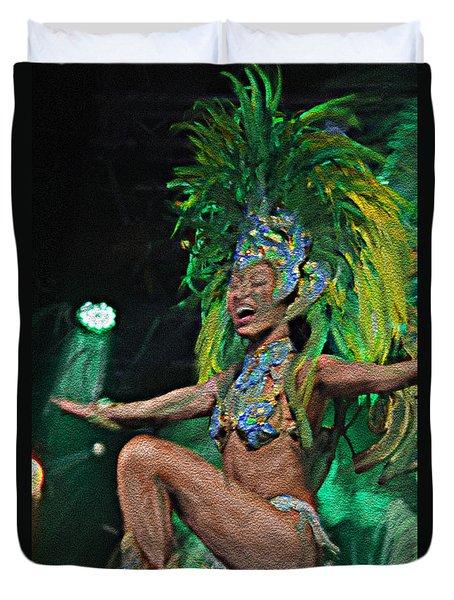 Rio Dancer I A Duvet Cover