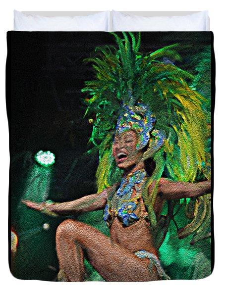 Rio Dancer I B  Duvet Cover