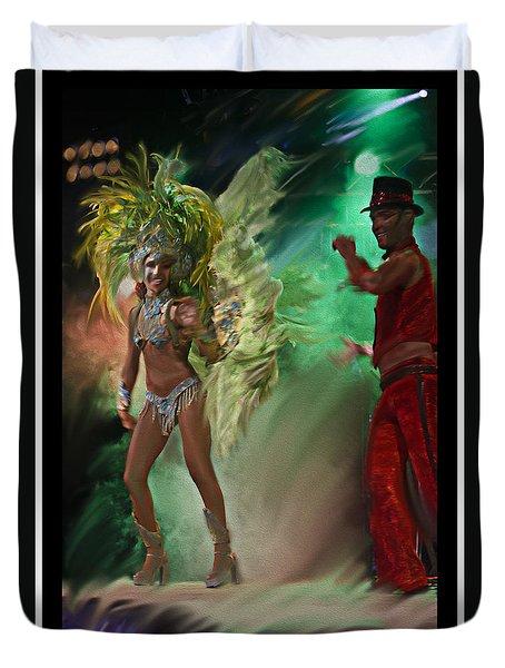 Rio Dancer II B  Duvet Cover
