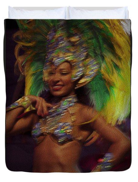 Rio Dancer IIi B Duvet Cover