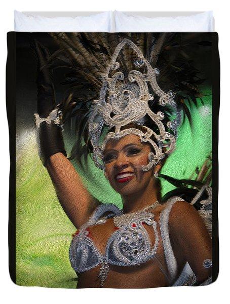Rio Dancer Iv A Duvet Cover