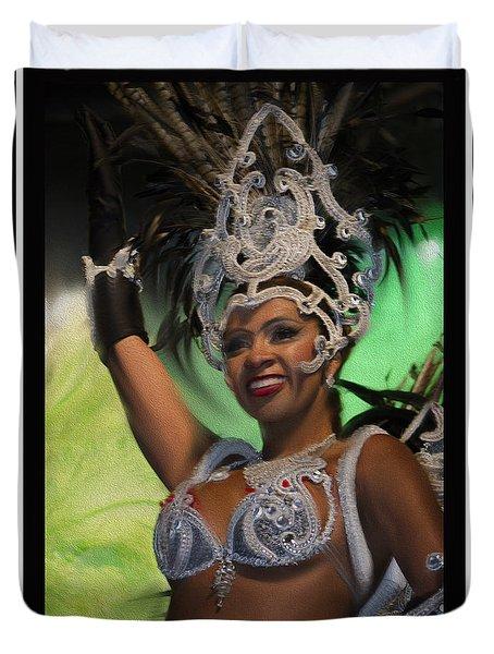 Rio Dancer Iv B Duvet Cover