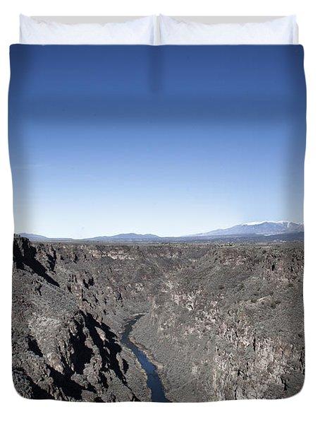 Rio Grande River-arizona Duvet Cover