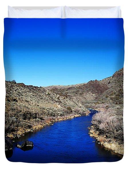 Rio Grande River-arizona V2 Duvet Cover