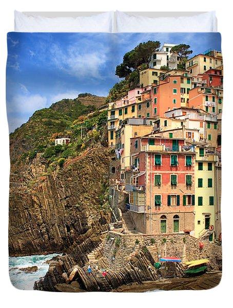 Rio Maggiore Coast Duvet Cover
