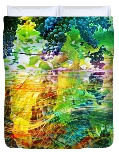 Ripened Vines Duvet Cover