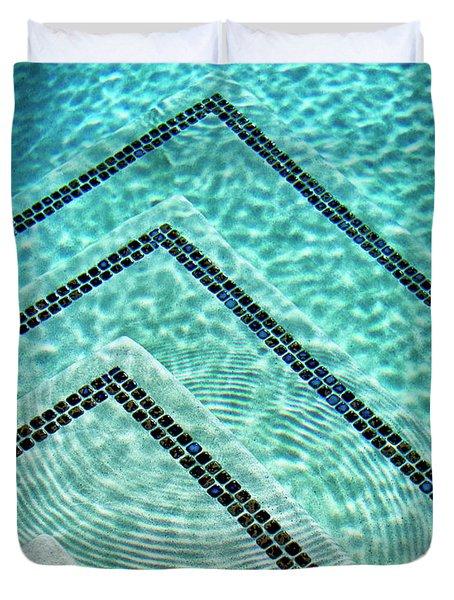 Ripple Effect Palm Springs Duvet Cover