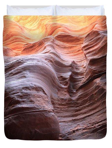 Ripples Of Light Duvet Cover