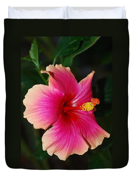 Rise And Shine - Hibiscus Face Duvet Cover