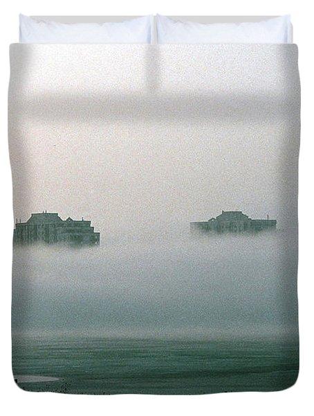 Rising From The Mist Duvet Cover