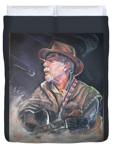 Rising Out Of The Sands Of Time Duvet Cover by Peter Suhocke