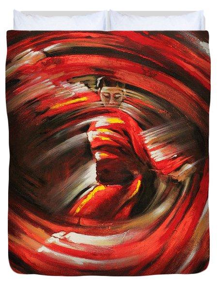 Rising Sun Duvet Cover by Karina Llergo