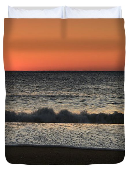 Rising To The Occasion - Jersey Shore Duvet Cover