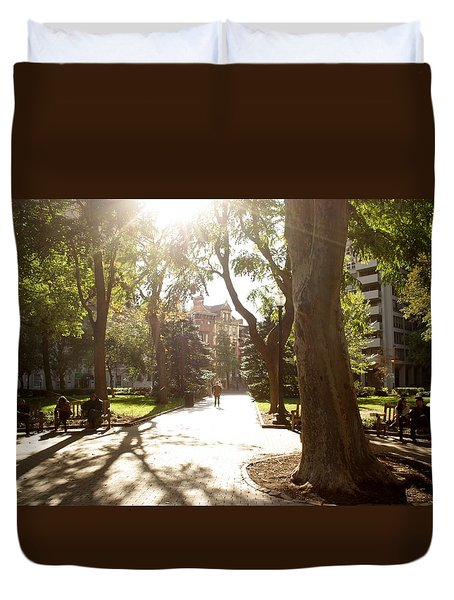 Rittenhouse In The Sun Duvet Cover