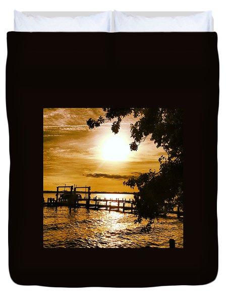River Acres Jaynes Sunset Duvet Cover