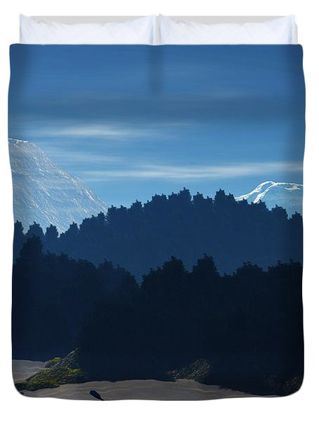 River Adventure Duvet Cover