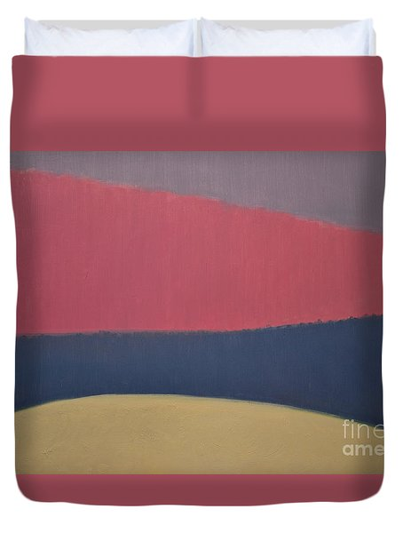 River Duvet Cover by Karen Francis