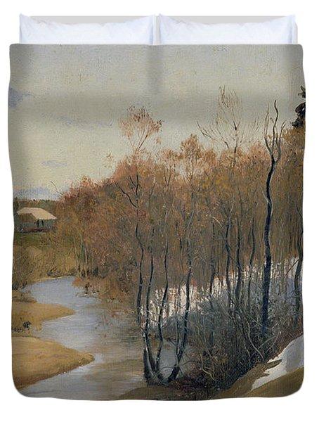 River Kordonka Duvet Cover