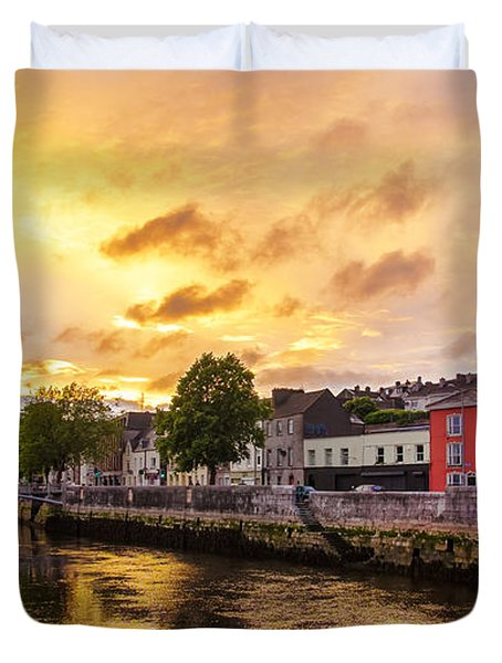 River Lee In Cork Duvet Cover