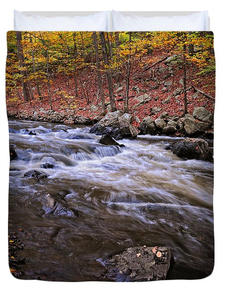 River Of Color Duvet Cover by Dave Mills
