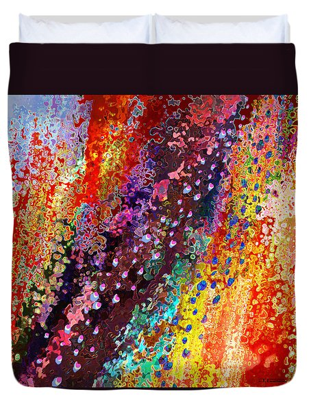 River Of Joy Duvet Cover