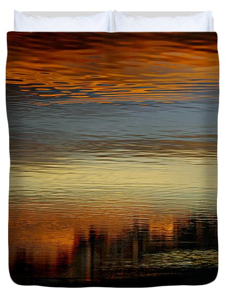River Of Sky Duvet Cover