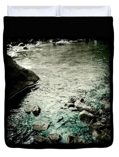 River Rocked Duvet Cover by Susan Maxwell Schmidt