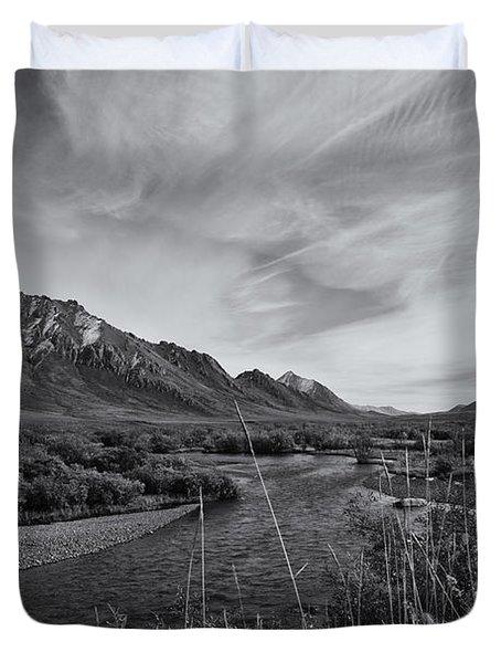 River Serenity Duvet Cover by Priska Wettstein