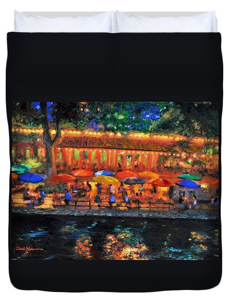 Da190 River Walk By Daniel Adams Duvet Cover