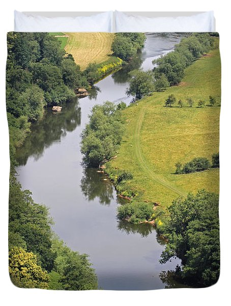 River Wye Duvet Cover by Tony Murtagh