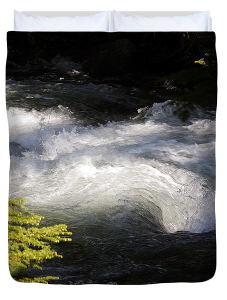 River's Ebb Duvet Cover
