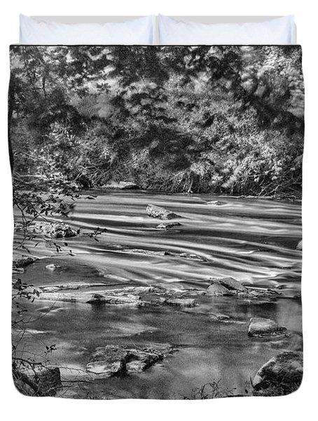River's Edge Duvet Cover