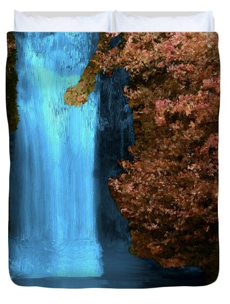 Rivers Of Living Water Duvet Cover
